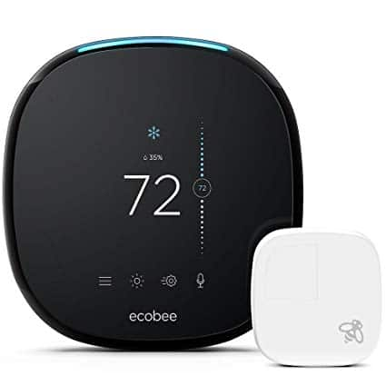 Alexa Thermostat Review Ecobee4 goes up against Nest