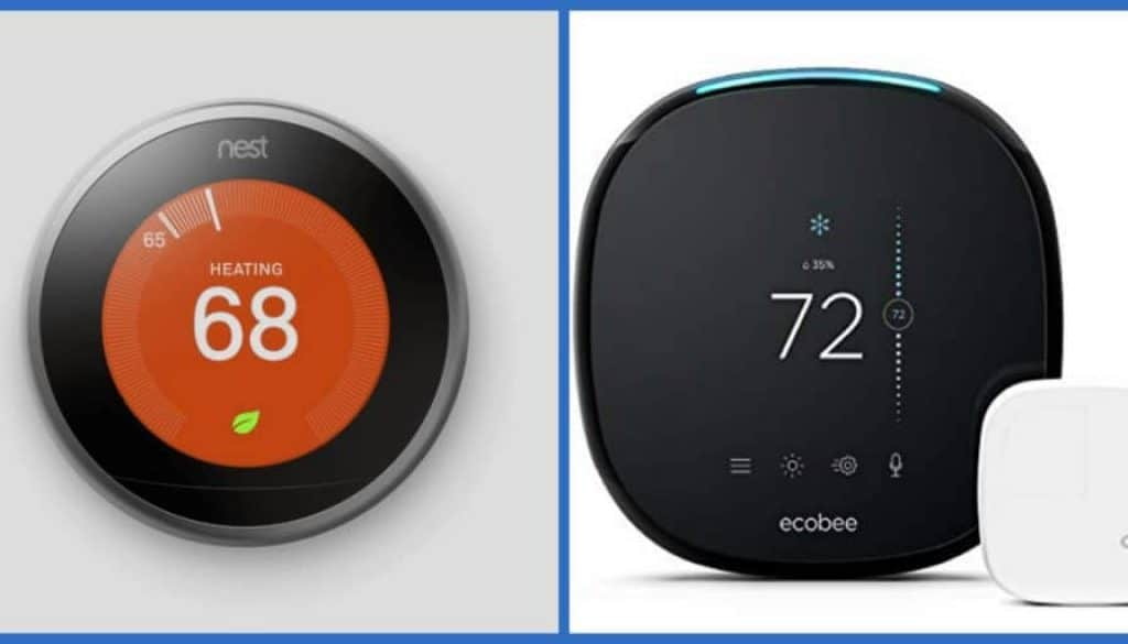Ecobee4 VS Nest Alexa Thermostat