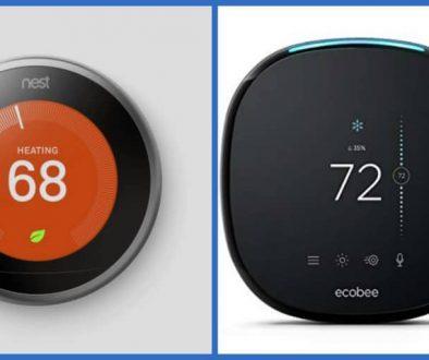 Ecobee4 VS Nest Alexa Thermostat