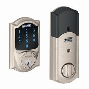Schlage Z-Wave Deadbolt for Alexa Home System to beef up you smart home installation kit.