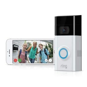 This is an exciting safety feature to your Alexa Smart Home Kit.  The Ring Video Doorbell 2.