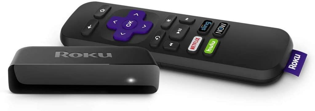 Roku Premiere - an easy to use smart TV converter to turn you old TV into a smart TV.