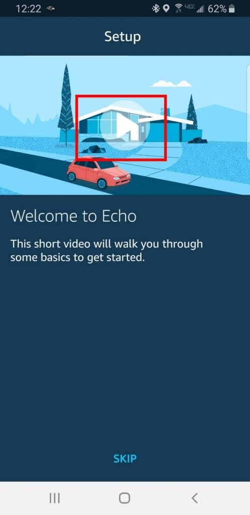 You've completed Alexa's Echo Setup.  Settings for Alexa are next.