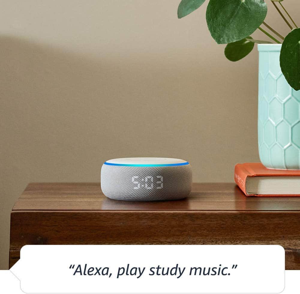 Alexa vs Echo Dot Clock