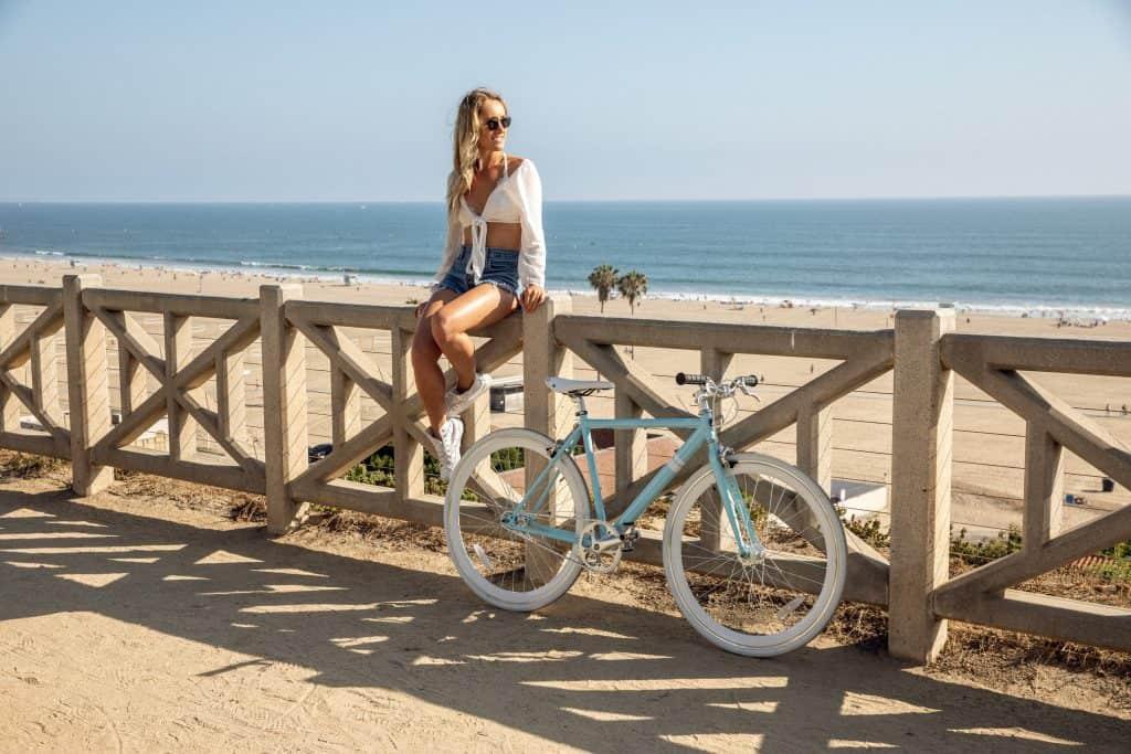 Female Cyclist
