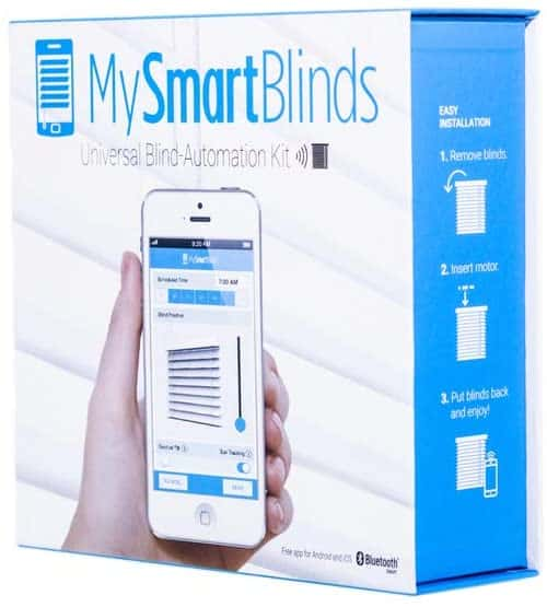 My Smart Blinds is a smart window conversion kit.
