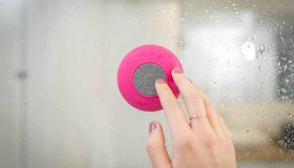 Google Assistant Waterproof Shower Speakers
