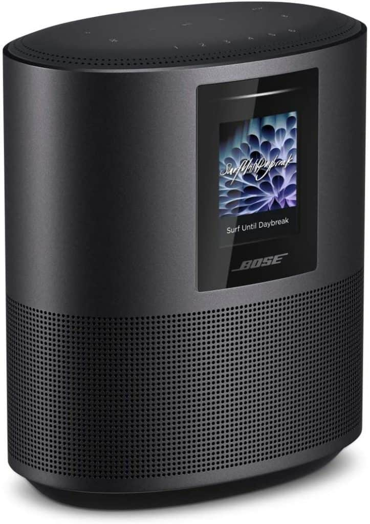 The Bose Home Speaker 500 with Alexa has great audio